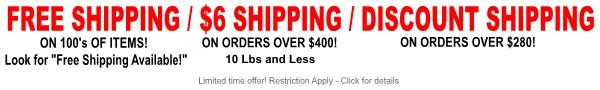 Boatersland Marine Shipping Promotion