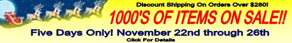 Holiday Sale at Boatersland