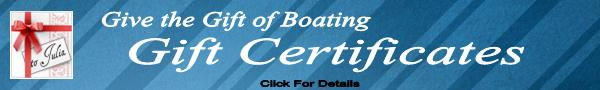 Boating Gift Certificates