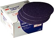 "3M 00379 8"" 40E Grit 745i Imperial Purple Stikit Discs 25/Box"