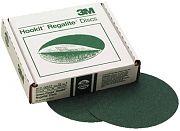 "3M 00520 8"" 100E Grit Green Corps Hookit Regalite Discs 25/Box"