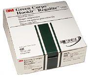 "3M 00615 6"" 40E Grit Green Corps Hookit Regalite Dust Free Discs 25/Box"