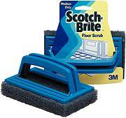 3M 01009 Scotch Brite Scrub Blue Medium Coarse