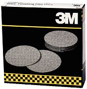 "3M 01321 6"" P600 Grit Stikit Finishing Film Discs 100/Box"