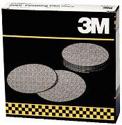 """3M 01321 6"""" P600 Grit Stikit Finishing Film Discs 100/Box"""