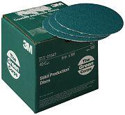 "3M 01548 6"" 36E Grit Green Corps Stikit Production Discs 100/Box"