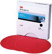 3M 01610 Red Abrasiv Disc 5 80D (100)