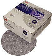 """3M 01818 6"""" P120C Grit Hookit Clean Sanding Dust Free Discs 50/Box"""