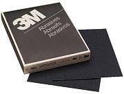 "3M 02018 9"" x 11"" Wetordry Tri-M-ite 80C Grit Paper Sheets 50/Sleeve"