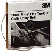 """3M 05026 180J Grit Tri-M-ite Cloth Utility Rolls 1-1/2"""" x 50yds"""