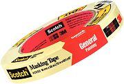 "3M 05619 Scotch Masking Tape 2050 1-1/2"" x 60yds"