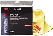 "3M 06016 12"" x 14"" Perfect-It Yellow Detailing Cloth 6/PK"