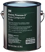 3M 06039 Finesse-It Marine Paste Compound Gallon