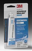 3M 06535 Marine Adhesive 5200 Fast Cure White 1oz