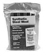 3M 10116 #2 Medium Synthetic Steel Wool Pads 6/PK