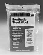 3M 10120 #000 Extra Fine Synthetic Steel Wool Pads 6/PK