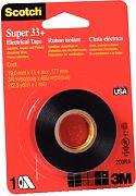 """3M 10414 3/4"""" x 37´ Scotch Super 33 Plus Electrical Tape"""