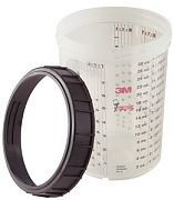 3M 16023 PPS Large Cup & Collar