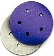 "3M 20731 5"" P120C Grit Hookit Purple Dust-Free Discs 50/Box"