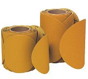 "3M 21785 8"" 120F GritImperial Stikit Gold ""F"" Weight Disc Roll 50/Roll"