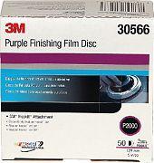 """3M 30666 Purple Fin Film Hookit P2K 6"""""""