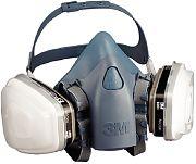 3M 37079 Large Packout Half Facepiece 7500 Series Ultimate Reusable Respirator