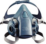 3M 37082 Medium Half Facepiece 7500 Series Ultimate Reusable Respirator Only