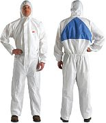 3M 49808 Coverall Micro 4540 XL with Hood