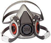 3M 6200 Medium Half Facepiece 6000 Series Respirator Only