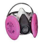 3M 6291 Medium Half Facepiece 6000 Series Respirator Assembly