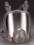 3M 6800 Medium Full Face Respirator 6000 Series