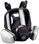 3M 6900 Large Full Face Respirator 6000 Series