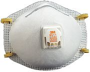 3M 8511 Particulate N95 Respirator with Valve 10/Box