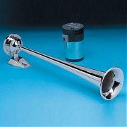 AFI 10105 Chrome Single Trumpet Horn