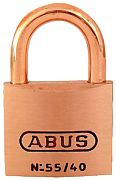 Abus Lock 55886 Padlock Key #5404 Brass 1 1/2I
