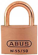 Abus Lock 55906 Padlock Key #5502 Brass 2IN