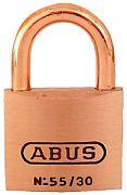 Abus Lock 56411 Padlock Brass 1 1/4IN 55/30MBC