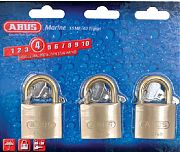 Abus Lock 56613 Padlock Brass 1 1/2 Ka 3/CD