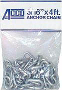 Acco Peerless 406940405 Anchor Lead Galv 1/4X5 Ft