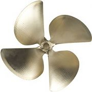 "Acme 847 13.5"" X 17.5"" .105 Cup Splined Bore LH Propeller"