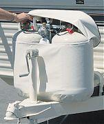 Adco 2111 20# Polar Wht Sngl Tank Cover