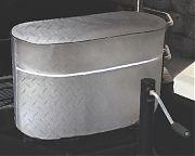 Adco 2713 Tank Covr Lp Gas Dbl 30 Silver