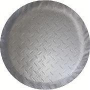 """Adco 9758 Tire Cover L 25.5"""" Dia Silver"""