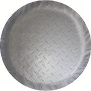 "Adco 9759 Tire Cover N 24"" Dia Silver"