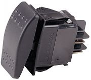 Ancor 554016 Illuminated Sealed Rocker Switch - DPDT - On/Off/(On)