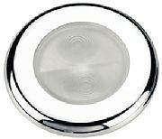 Aqua Signal 164047 Stainless Steel Bogota 4-LED Courtesy Light - White