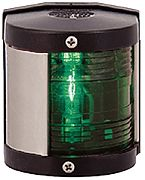 Aqua Signal 252007 Series 25 Classic Starboard Side Light - Green