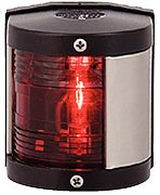Aqua Signal 253007 Series 25 Classic Port Side Light - Red