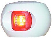 Aqua Signal 333037 Series 33 White Port LED Side Light - Red
