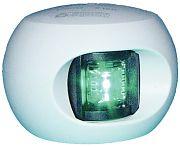 Aqua Signal 342037 Series 34 White Starboard Bulkhead Side Light - Green